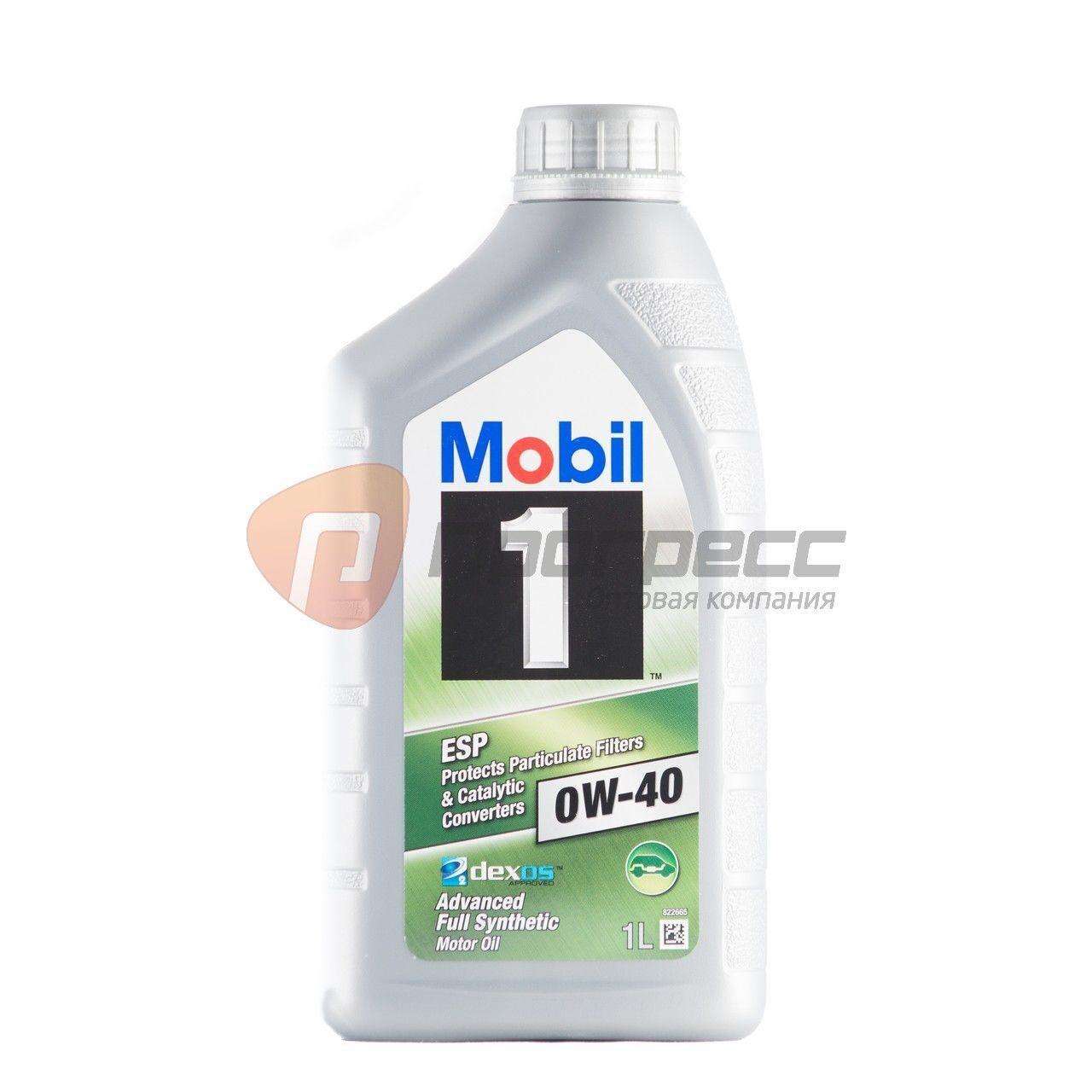 Mobil 0W40 Esp