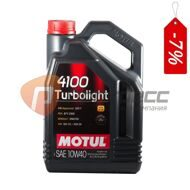 MOTUL 4100 TURBOLIGHT 10W40 4л