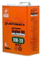 AUTOBACS ENGINE OIL FS 0W-20 SN/GF-5 4л