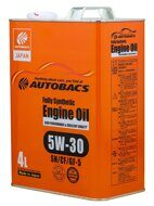 AUTOBACS ENGINE OIL FS 5W-30 SN/CF/GF-5 4л